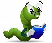 stock photo of bookworm  - Bookworm  - JPG