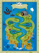 foto of treasure map  - Treasure Map  - JPG