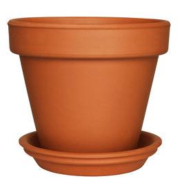 pic of flower pot  - Empty Flower Pot isolated on white - JPG