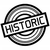 Historic Typographic Stamp. Typographic Sign, Badge Or Logo poster