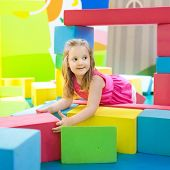 Kids Play. Construction Toy Blocks. Child Toys poster