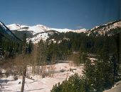 pic of amtrak  - Continental Divide in the Colorado Rockies from Amtrak California Zephyr - JPG