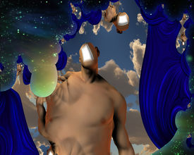 picture of dadaism  - Surreal Abstract with human elements - JPG
