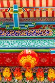 George Town Malaysia. March 8 2019. Colourful Lanterns At Kek Lok Si Temple In George Town Malaysia poster