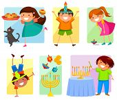 kids on Hannukah