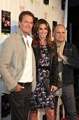 MALIBU - OCT 21: Rande Gerber, Cindy Crawford, Brian Edwards at the