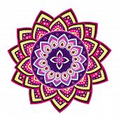 picture of dharma  - Culture art pattern design with colourful graphic style - JPG