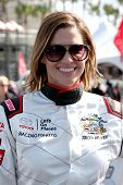 LOS ANGELES - APR 1:  Tricia Helfer at the Toyota Grand Prix of Long Beach Pro/Celebrity Race Press