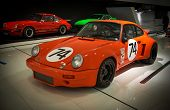 STUTTGART, GERMANY - CIRCA APRIL, 2014: Porsche Museum. PORSHE 911 Carrera RSR 3.0 (1974)