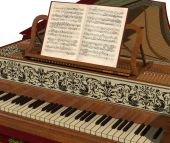 Harpsichord Keyboard