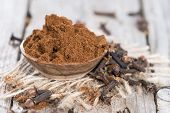 Clove Powder In A Bowl