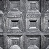 Close-up Image Of An Wooden Door
