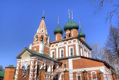 Archangel Michael church. Yaroslavl, Russia