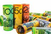 stock photo of twenty dollars  - Australian Currency - JPG