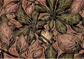 picture of camoflage  - camo as pattern of leaves - JPG