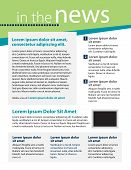 image of newsletter  - Template for business or non - JPG
