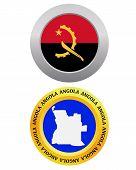 Постер, плакат: Button As A Symbol Angola