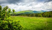 picture of rainy weather  - Rainy weather in Bieszczady Mountains in Eastern Poland - JPG