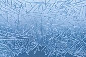 stock photo of frozen  - Frozen glass - JPG
