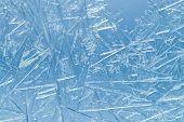 stock photo of frozen  - Frozen glass - JPG