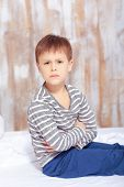 foto of little boys only  - Naughty little boy - JPG
