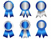 Постер, плакат: Award Ribbon Rosettes