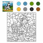 picture of paint horse  - Game for children - JPG