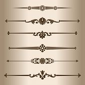 pic of divider  - Decorative lines - JPG