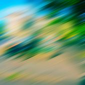 pic of diagonal lines  - blurred diagonal lines and color spots background - JPG
