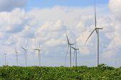 image of generator  - Wind turbine power generator  - JPG