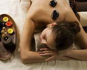 Spa.Stone massage.Dayspa poster
