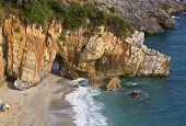 Постер, плакат: Пляж Милопотамос в Пелионе Греция