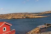 Pictures Show Verdens Ende On The Island Of Tjome In Norway, Scandinavia poster