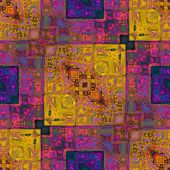 picture of abstract painting  - art colorful ornamental vintage pattern - JPG