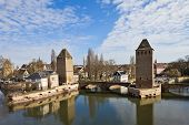 Covered Bridges (Ponts Couverts ). Strasbourg, France