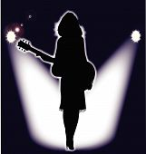 Постер, плакат: Folk Singer