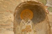 ������, ������: Fresco Saint Nicholas Of Myra