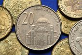 picture of serbia  - Coins of Serbia - JPG