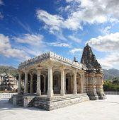 pic of jainism  - ranakpur hinduism temple in rajasthan india - JPG