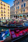 pic of gondola  - VENICE ITALY  - JPG