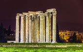 stock photo of olympian  - Temple of Olympian Zeus in Athens Greece - JPG