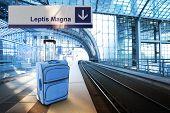 image of libya  - Departure for Leptis Magna Libya - JPG