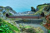 Постер, плакат: Scenic Railroad In Ireland