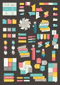 picture of diagram  - Collections of info graphics flat design diagrams - JPG