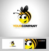 pic of honey-bee  - Bee Logo Design Concept - JPG
