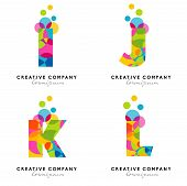 foto of alphabet  - Creative Alphabet Letters Logo - JPG