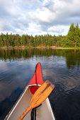 Постер, плакат: Canoeing Sweden