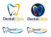 stock photo of logo  - Dental Logo Design - JPG
