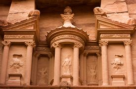 pic of treasury  - The upper part of the Treasury - JPG