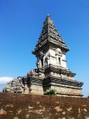 stock photo of hindu temple  - Hindu temple called Candi Jawi located in East Java Indonesia - JPG
